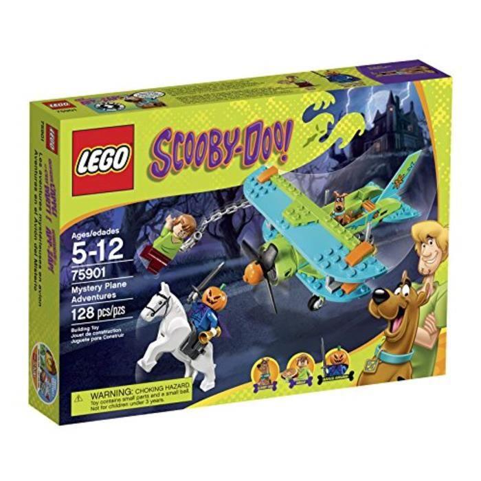 Jeu D'Assemblage LEGO LUERG Scooby-Doo Mystery 75901 Avion Adventures Kit de construction