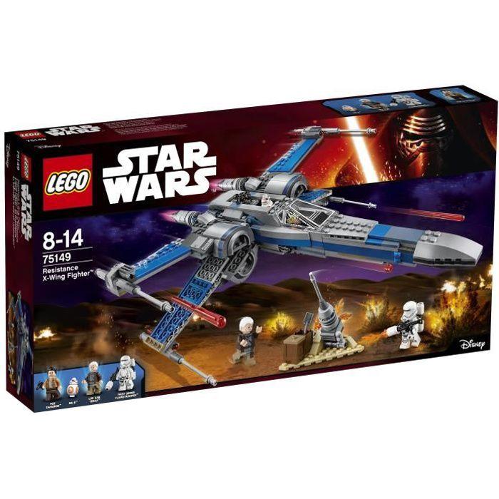 LEGO® Star Wars™ 75149 X-Wing Fighter™ de la Résistance