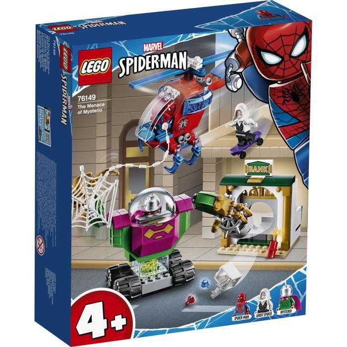 LEGO® Marvel Spider-Man™ 76149 -La menace de Mystério