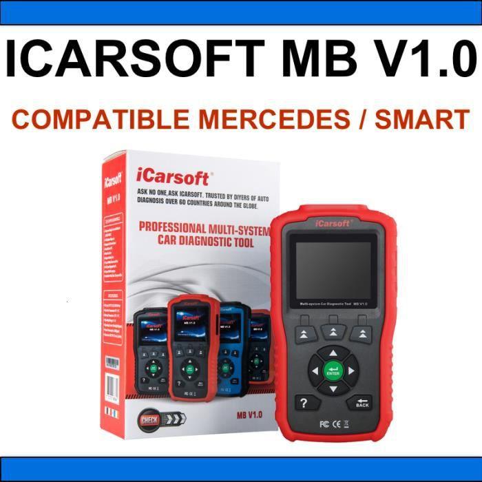 iCarsoft MB V1.0 - Diagnostic professionnel Mercedes / Smart - AUTOCOM DELPHI