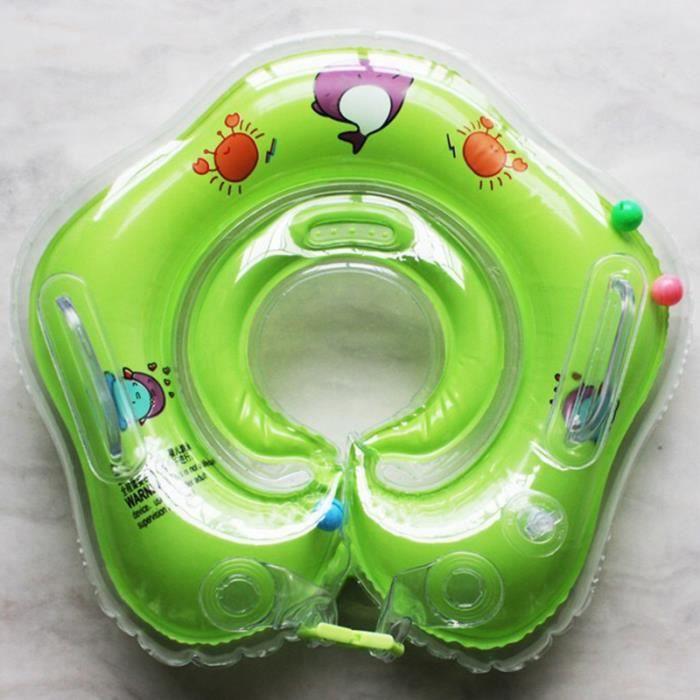 SIMPVALE anneau de cou bébé piscine Natation anneau flottant cercle anneau de