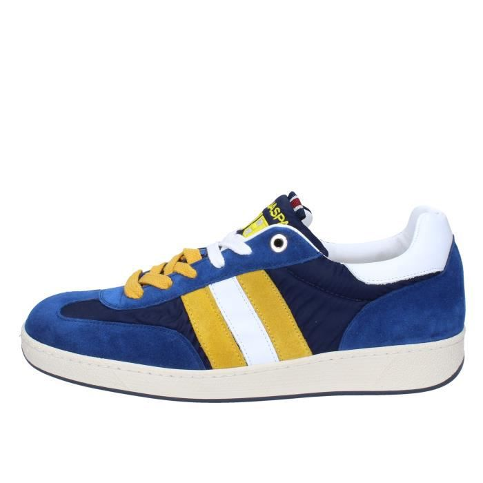 D'ACQUASPARTA Chaussures Homme Baskets daim Bleu AB908