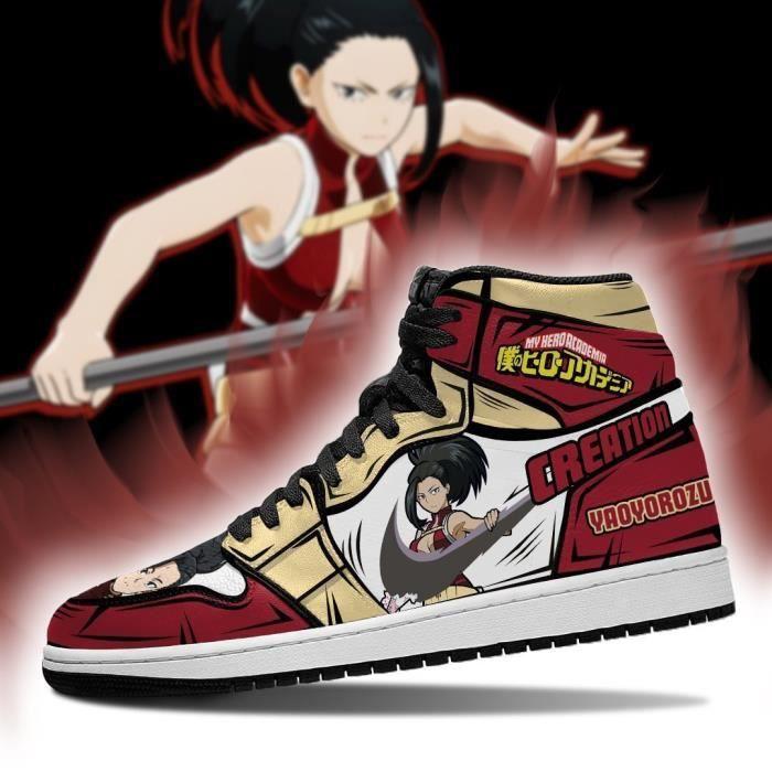 Baskets Anime-My Hero Academia-Yaoyorozu Momo Chaussures de course pour Homme Femme
