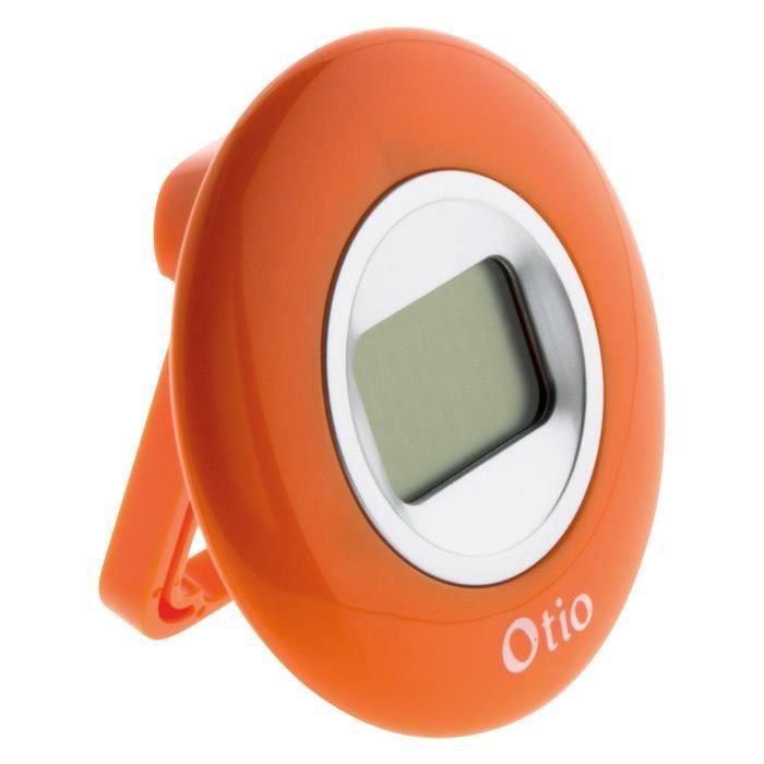 Thermomètre d'intérieur orange - Otio