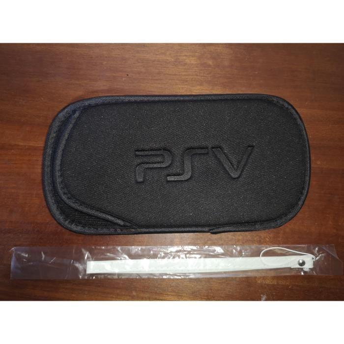 HOUSSE DE PROTECTION TRANSPORT PS VITA /PSP SONY +Dragonne