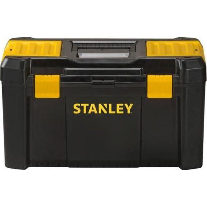 Stanley Boîte À Outils En Plastique 12,5 32 Cm Fermeture En Plastique
