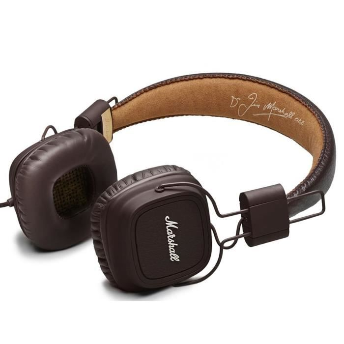 Marshall major mKII-brown-casque audio/microphone