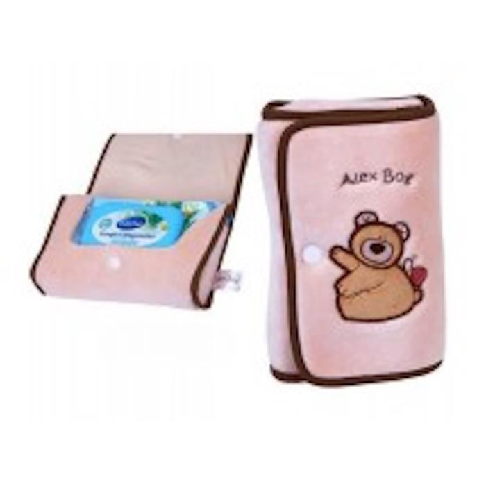 lingettes sac ours en peluche beige 14x20cm achat vente distributeur lingette 2009874099149. Black Bedroom Furniture Sets. Home Design Ideas