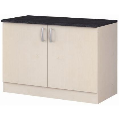Meuble bas 120 cm grain de sel achat vente elements for Meuble 120 cm