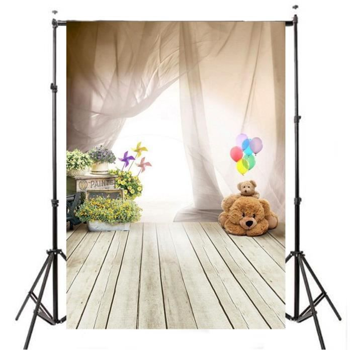 1pcs toile de fond backdrop tissu pour photographie studio photo ours achat vente. Black Bedroom Furniture Sets. Home Design Ideas