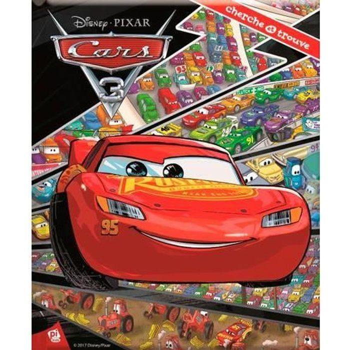 Livre Cherche Et Trouve Cars 3