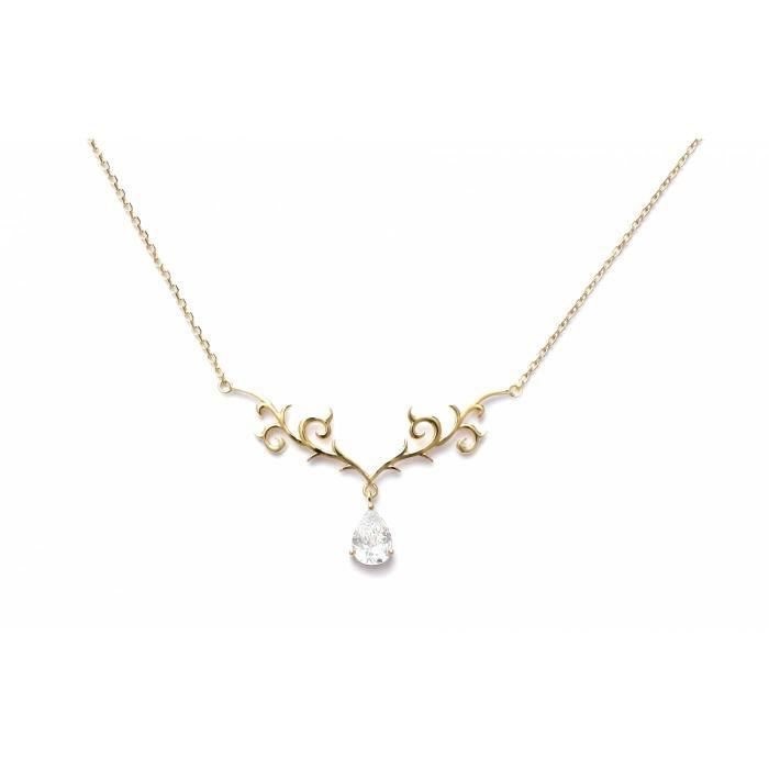 Collier femme zirconium Arabesque somptueuse Bijoux en Vogue