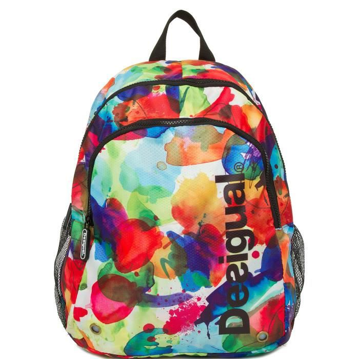 cute school bags sac ecole desigual. Black Bedroom Furniture Sets. Home Design Ideas