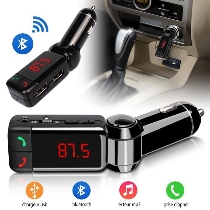 kit main libre voiture bluetooth chargeur usb pour yezz andy ac4e achat vente kit bluetooth. Black Bedroom Furniture Sets. Home Design Ideas