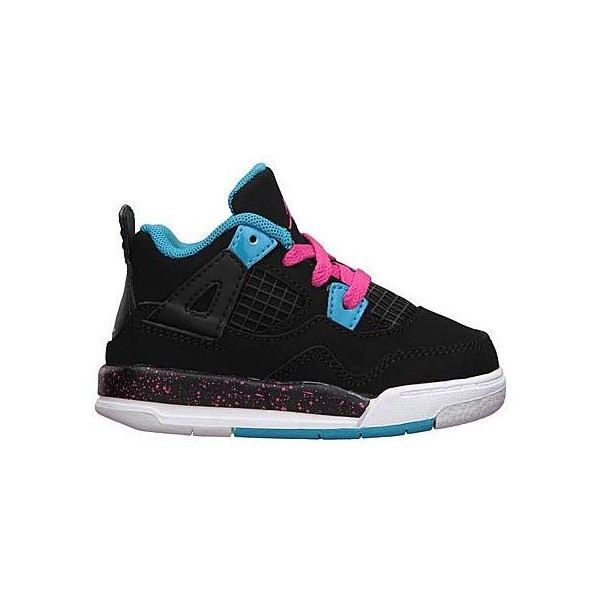 nike jordan 4 retro enfant noir noir achat vente basket cdiscount. Black Bedroom Furniture Sets. Home Design Ideas