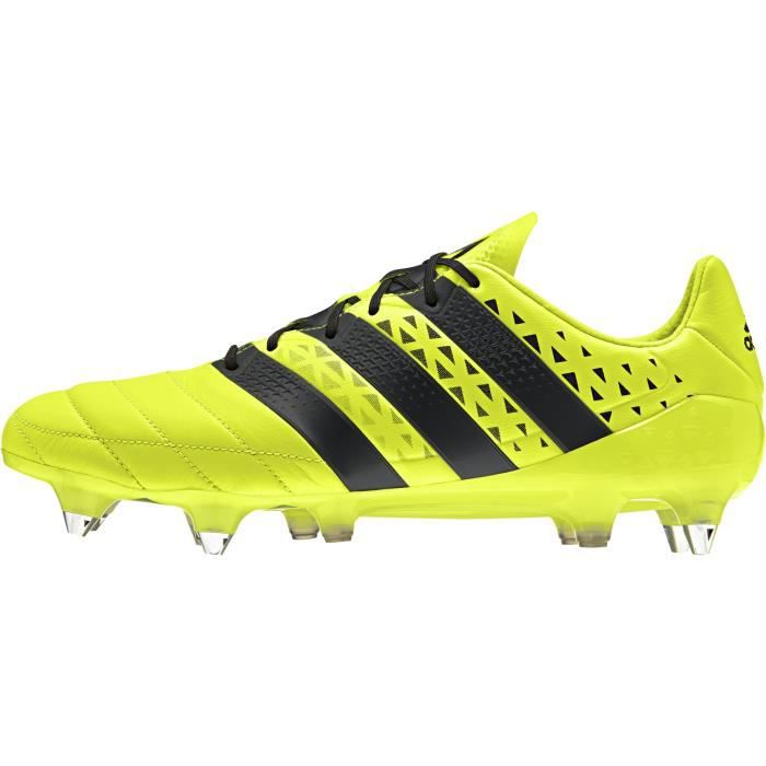 ADIDAS PERFORMANCE Chaussures de football Ace 16.1 FGAG Homme Jaune