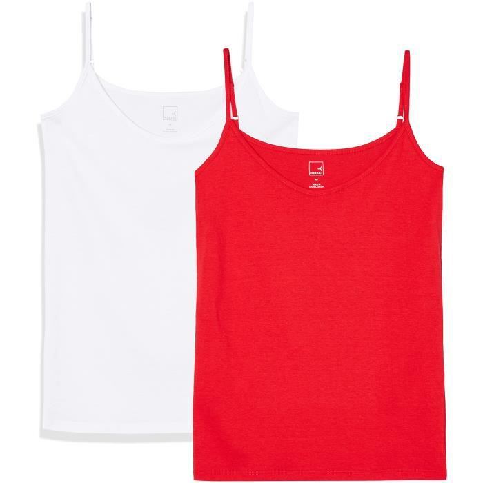 2 Taille Femmes Pack Vest 36 3lls72 Camisole Of TwY1I
