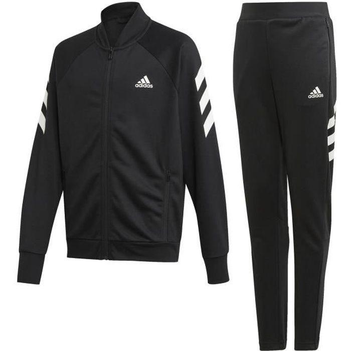 Survêtement Adidas Xfg noir blanc enfant