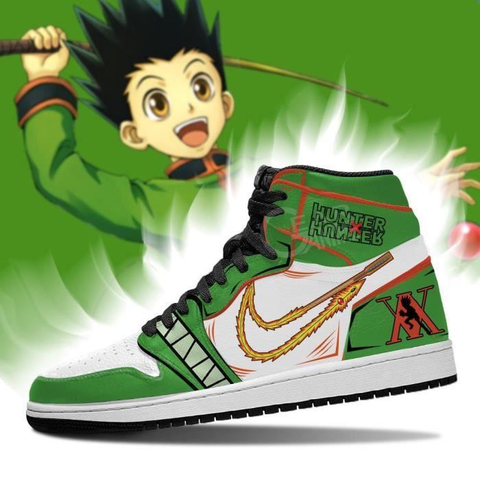 Baskets Anime-Hunter X Hunter-Gon Freecss Chaussur