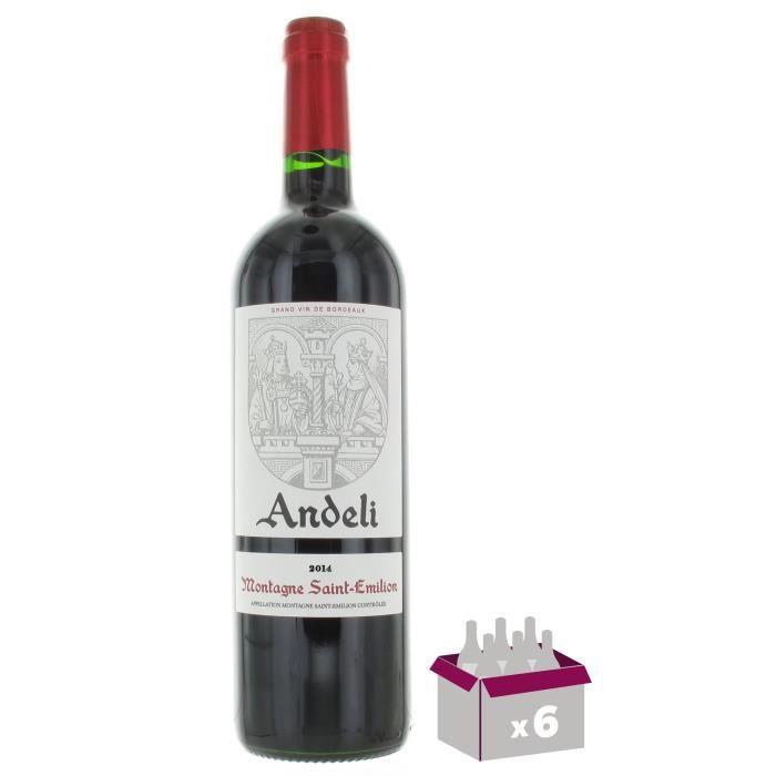 Andeli 2014 Montagne Saint-Emilion - Vin rouge de Bordeaux