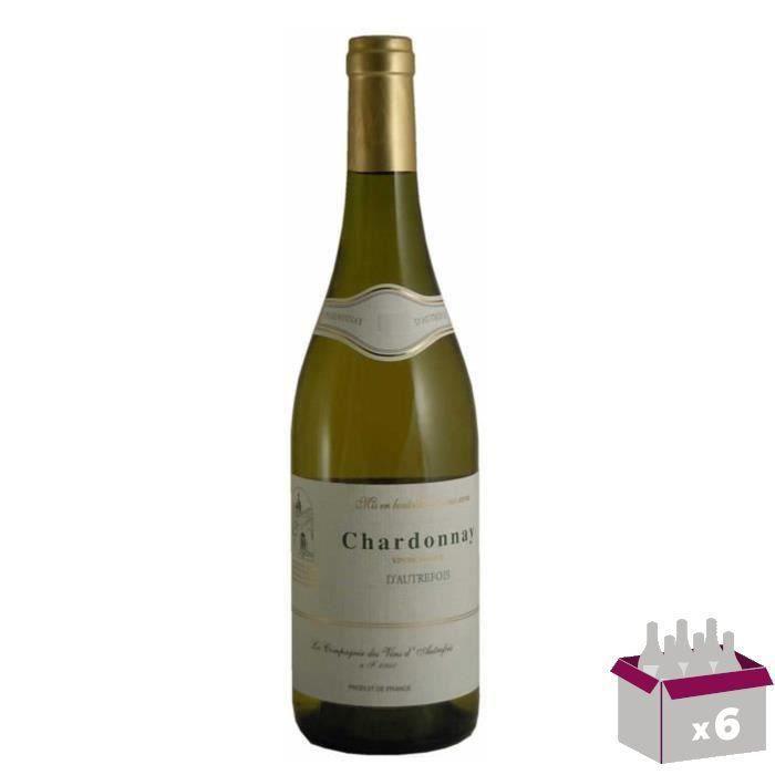 Chardonnay d'Autrefois 2016 Vin de France - Blanc x6