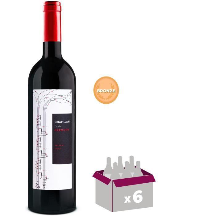 Chapillon Cuvée Harmonie 2014 Aragon - Vin rouge d'Espagne