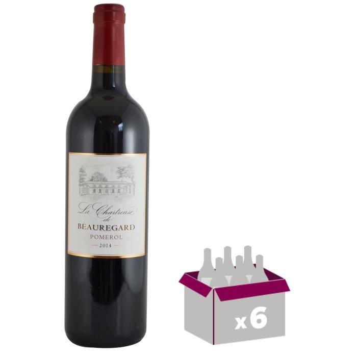La Chartreuse Beauregard 2014 Pomerol - Vin rouge de Bordeaux