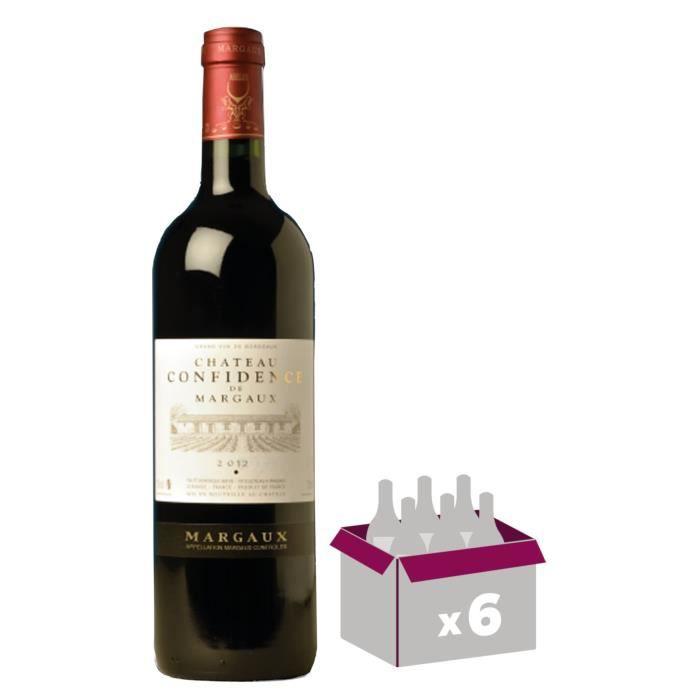 Château Confidence De Margaux 2014 Margaux - Vin rouge de Bordeaux