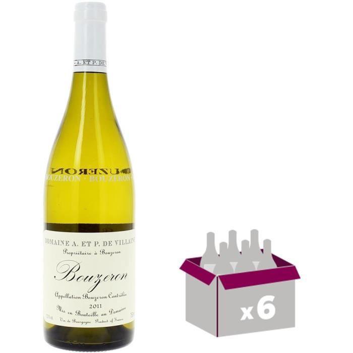 Domaine de Villaine 2013 Bouzeron Côte Chalonnaise - Vin blanc de Bourgogne