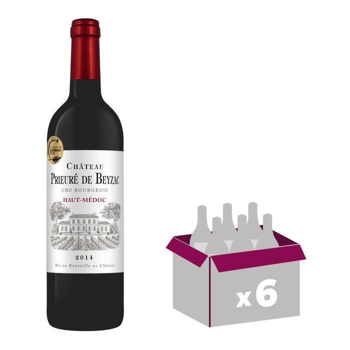 Château Prieuré de Beyzac 2014 Haut-Médoc Cru Bourgeois - Vin rouge de Bordeaux