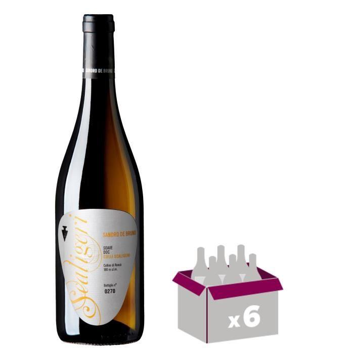 SANDRE DE BRUNO 2014 Soave Vin d'Italie - Blanc - 75 cl - DOC x 6