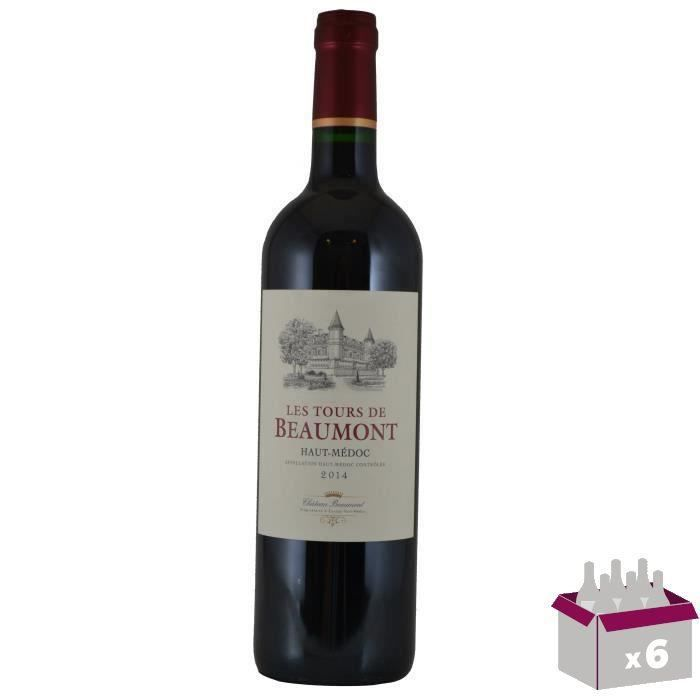 CHÂTEAU TOUR DE BEAUMONT 2014 Haut-Médoc Vin de Bordeaux - Rouge - 75 cl x 6