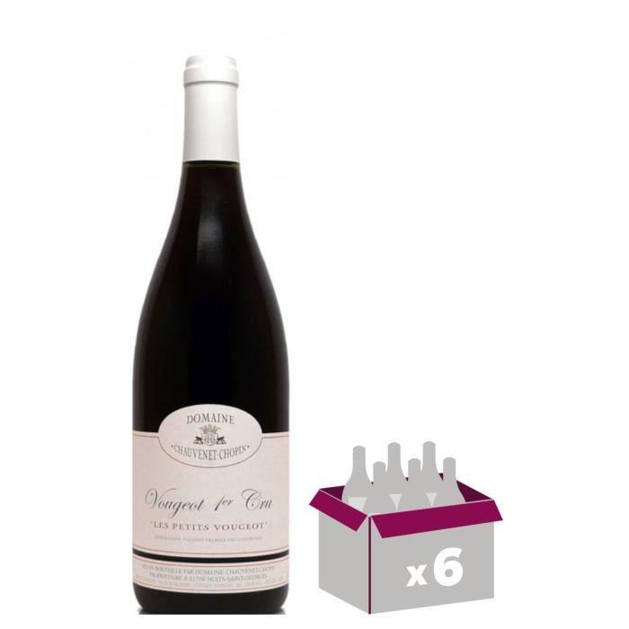 Domaine Vaudoisey Creusefond 2014 Vougeot 1er Cru Les Petits Vougeots - Vin rouge de Bourgogne