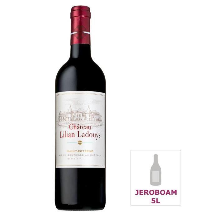 Jéroboam Château Lilian Ladouys 2014 Saint-Estèphe - Vin rouge de Bordeaux