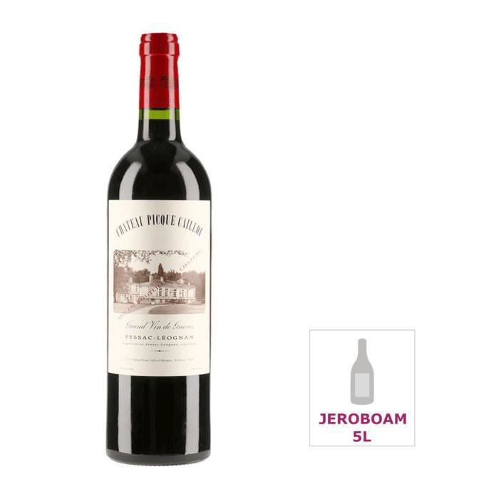 Jéroboam Château Picque Caillou 2014 Pessac-Léognan - Vin rouge de Bordeaux