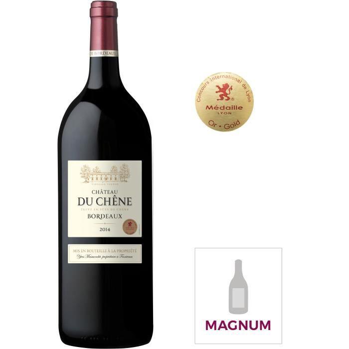 Magnum Château du Chêne 2014 Bordeaux - Vin rouge de Bordeaux