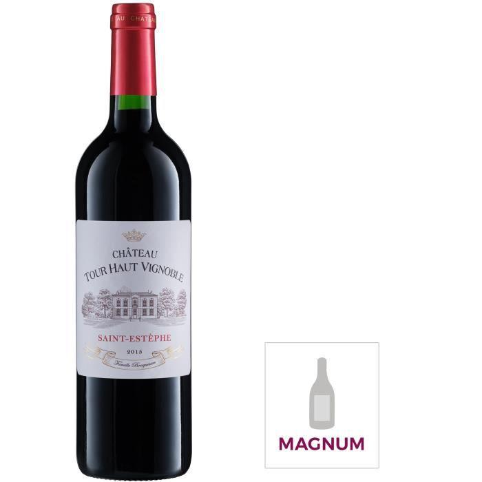 Magnum Château Tour Haut Vignoble 2014 Saint-Estèphe Vin Rouge de Bordeaux
