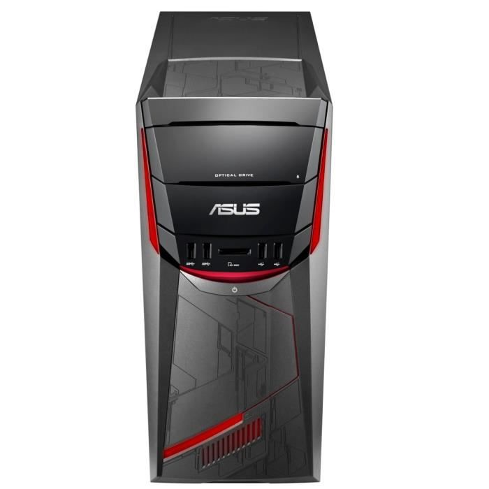 PC de Bureau Gamer G11CD-K-FR114T -NVIDIA GeForce GTX1050 - 8Go RAM - Windows 10 - Intel Core i7-7700 - Disque Dur 1To + 128Go SSD