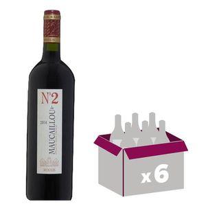 VIN ROUGE CHÂTEAU MAUCAILLOU MOULIS 2014 Numéro 2 Vin de Bor