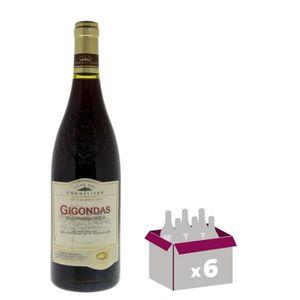 VIN ROUGE Club des Sommeliers 2017 Gigondas - Vin rouge de l