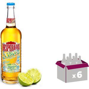 BIÈRE DESPERADOS LIME Bière aromatisée tequila / citron-