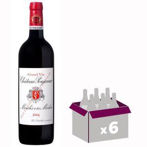VIN ROUGE Château Poujeaux Moulis Grand Vin de Bordeaux 2014