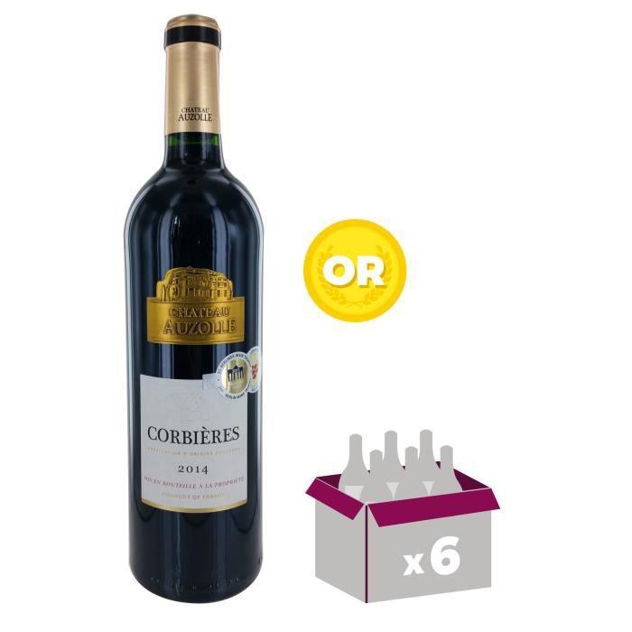 VIN ROUGE Château Auzolle 2014 Corbières - Vin rouge du Lang