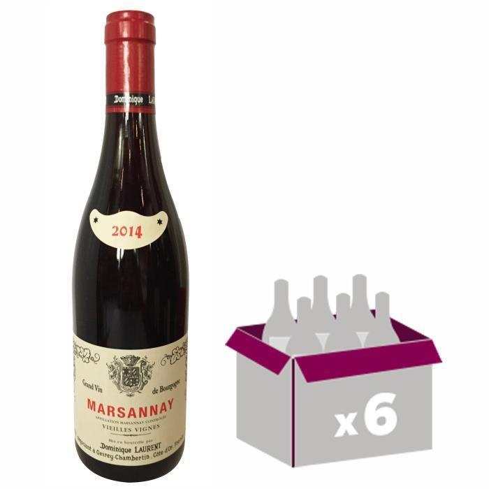 VIN ROUGE Dominique Laurent 2014 Marsannay - Vin rouge de Bo