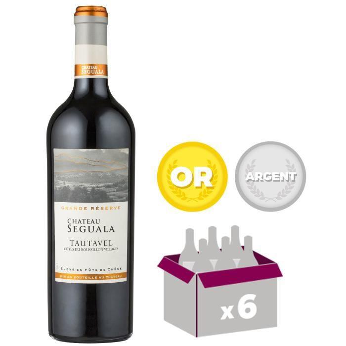 VIN ROUGE Château Seguala 2014 Tautavel - Vin rouge du Langu