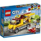 ASSEMBLAGE CONSTRUCTION LEGO® City 60150 Le Camion pizza