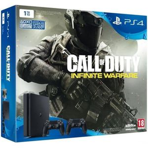 CONSOLE PS4 Nouvelle PS4 Slim 1 To + Call of Duty Infinite War