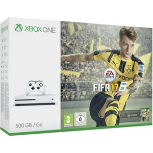 CONSOLE XBOX ONE Pack Xbox One S 500Go + FIFA 17