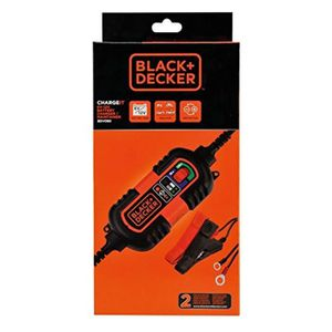 CHARGEUR DE BATTERIE Black + DECKER BDV090 Chargeur/ Mainteneur de Batt