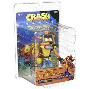 CRASH PAD MOTO Figurine Miniature UK10I Crash Bandicoot: Deluxe C